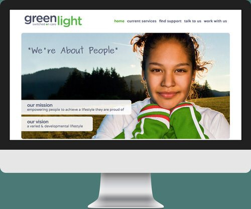 Green Light - home page